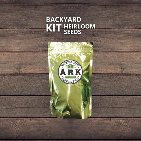 Backyard heirloom seed kit.