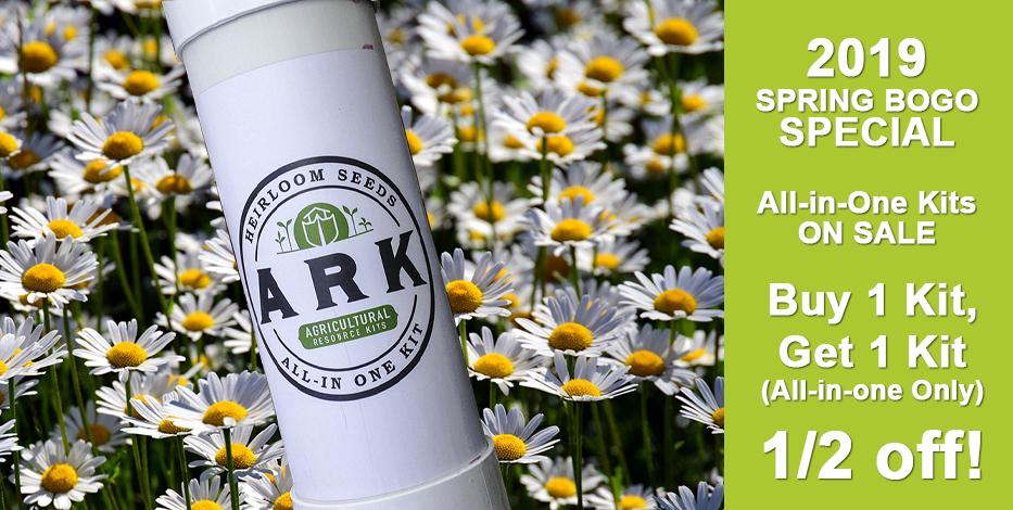 ARK Heirloom Seed Kits - All-In-One Seed Kit